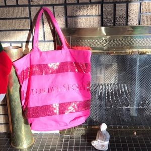 Victoria's Secret Large Pink Tote